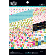 "#2 - 12 Designs/2 Each - Illustrated Faith Basics Paper Pad 6""X8"""