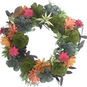 Succulent Wreath - Sizzix DIY Kit By Katelyn Lizardi