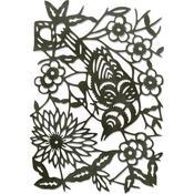 Paper-Cut Bird - Sizzix Thinlits Dies By Tim Holtz