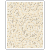 Lace By Tim Holtz - Sizzix Texture Fades Embossing Folder