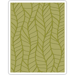 Leafy By Tim Holtz - Sizzix Texture Fades Embossing Folder