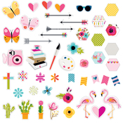 Daily - Illustrated Faith Basics Paper Pieces Cardstock Die-Cuts