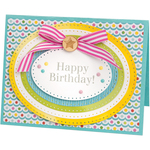 Dotted Ovals - Sizzix Framelits Dies By Stephanie Barnard 8/Pkg
