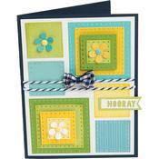 Dotted Squares - Sizzix Framelits Dies By Stephanie Barnard 8/Pkg