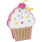 Cupcake Fold-Its - Sizzix Framelits Dies By Stephanie Barnard 5/Pkg