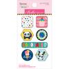 Icons - Popsicles & Pandas Epoxy Stickers