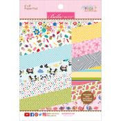 """Popsicles & Pandas - Bella Blvd Paper Pad 6""""X8"""""""