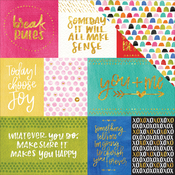 Daily Details - Make Your Mark Foiled Paper - Bella Blvd