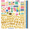 """Fundamentals W/Gold Foil - Make Your Mark Cardstock Stickers 12""""X12"""""""