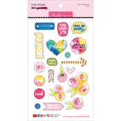 Icons - Make Your Mark Puffy Stickers