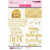 """Make Your Mark Clear Cuts Pad 6""""X8"""""""