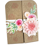 Hello Friend Gatefold Card - Sizzix Thinlits Dies By Katelyn Lizardi 9/Pkg