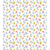 "Kaleidoscope Of Butterflies - Craft Consortium Decoupage Papers 13.75""X15.75"" 3/Pkg"