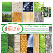 "100% Natural - Ella & Viv Collection Kit 12""X12"""