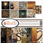 """Adventure Emporium - Ella & Viv Collection Kit 12""""X12"""""""