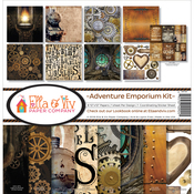 "Adventure Emporium - Ella & Viv Collection Kit 12""X12"""