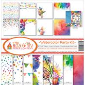 "Watercolor Party - Ella & Viv Collection Kit 12""X12"""
