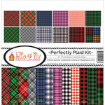 "Perfectly Plaid - Ella & Viv Collection Kit 12""X12"""
