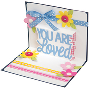 You Are Loved 3D - Sizzix Thinlits Drop-Ins Dies by Stephanie Barnard 4/Pkg