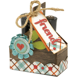 Double Tote - Sizzix Thinlits Die By Lori Whitlock 12/Pkg
