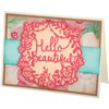 Hello Beautiful - Sizzix Thinlits Dies By Katelyn Lizardi 2/Pkg