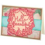 Hello Beautiful - Sizzix Thinlits Dies By Katelyn Lizardi 2/Pkg