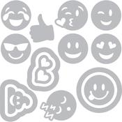 Emojis - Sizzix Thinlits Dies By Katelyn Lizardi 14/Pkg