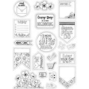 Color Your Planner - Sizzix Coloring Stickers By Katelyn Lizardi