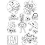 Enjoy Every Day - Sizzix Coloring Stickers By Katelyn Lizardi