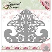 Card Stand - Find It Trading Precious Marieke Seasonal Flowers Die