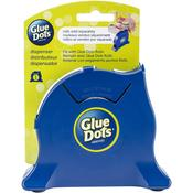 Navy - Glue Dot Desktop Roll Dispenser