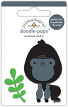 At The Zoo Gus Gorilla - Doodlebug Doodle-Pops