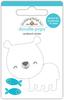 At The Zoo Patrick Polar Bear - Doodlebug Doodle-Pops