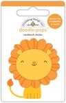 At The Zoo Leo Lion - Doodlebug Doodle-Pops