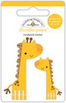 At The Zoo Jenny & Jojo Giraffe - Doodlebug Doodle-Pops