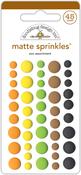 At The Zoo - Doodlebug Sprinkles  Matte Enamel Dots