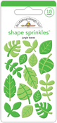 At The Zoo Jungle Leaves - Doodlebug Sprinkles