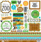 This & That - At The Zoo Cardstock Stickers