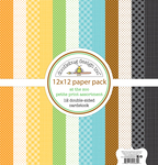 At The Zoo - Doodlebug Petite Prints Paper Pack