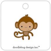 Monkey At The Zoo Collectible Enamel Pin Doodlebug