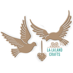 "Love Doves, 2""X2.75"" - La La Land Die"