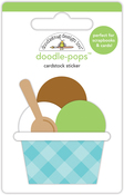 Dragon Tails Triple Scoop - Doodlebug Doodle-Pops