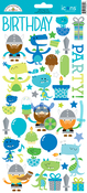 Icons - Dragon Tails Cardstock Stickers