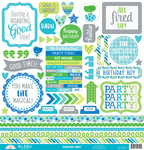 This & That - Dragon Tails Cardstock Stickers