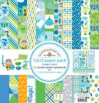 Dragon Tails - Doodlebug Paper Pack