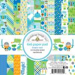 "Dragon Tails - Doodlebug  Paper Pad 6""X6"""
