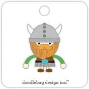 Viking Dragon Tails Collectible Enamel Pin Doodlebug