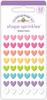 Fairy Tale Rainbow Hearts - Doodlebug Sprinkles