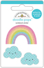 Fairy Tale Over The Rainbow - Doodlebug Doodle-Pops