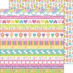 Sweet Celebration - Fairy Tale Paper - Doodlebug